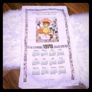 🦋2/$10 3/$15 4/$18 5/$20 Vintage 1978 Linen Towel